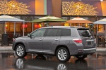 2012 Toyota Highlander Hybrid in Magnetic Gray Metallic - Static Rear Left Three-quarter View