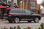 2012 Toyota Highlander Limited V6 in Sizzling Crimson Mica - Static Right Side View