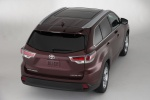 2014 Toyota Highlander Limited AWD in Ooh La La Rouge Mica - Static Rear Right Top View
