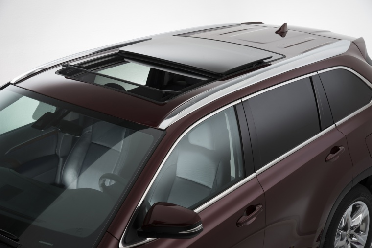 2017 Toyota Highlander Limited Awd Panoramic Moonroof