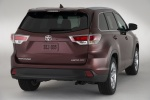 2015 Toyota Highlander Limited AWD in Ooh La La Rouge Mica - Static Rear Right View