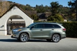 2015 Toyota Highlander Hybrid Limited AWD in Alumina Jade Metallic - Static Side View
