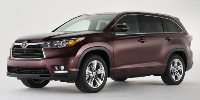 2015 Toyota Highlander Pictures