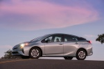 2018 Toyota Prius Three in Sea Glass Pearl - Static Side View
