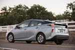 2018 Toyota Prius Three in Sea Glass Pearl - Static Rear Left Three-quarter View