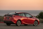 2018 Toyota Prius Four in Hypersonic Red - Static Rear Right Three-quarter View