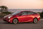 2018 Toyota Prius Four in Hypersonic Red - Static Side View