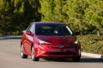 2018 Toyota Prius Four in Hypersonic Red - Driving Frontal View