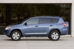 2010 Toyota RAV4 in Pacific Blue Metallic - Static Side View
