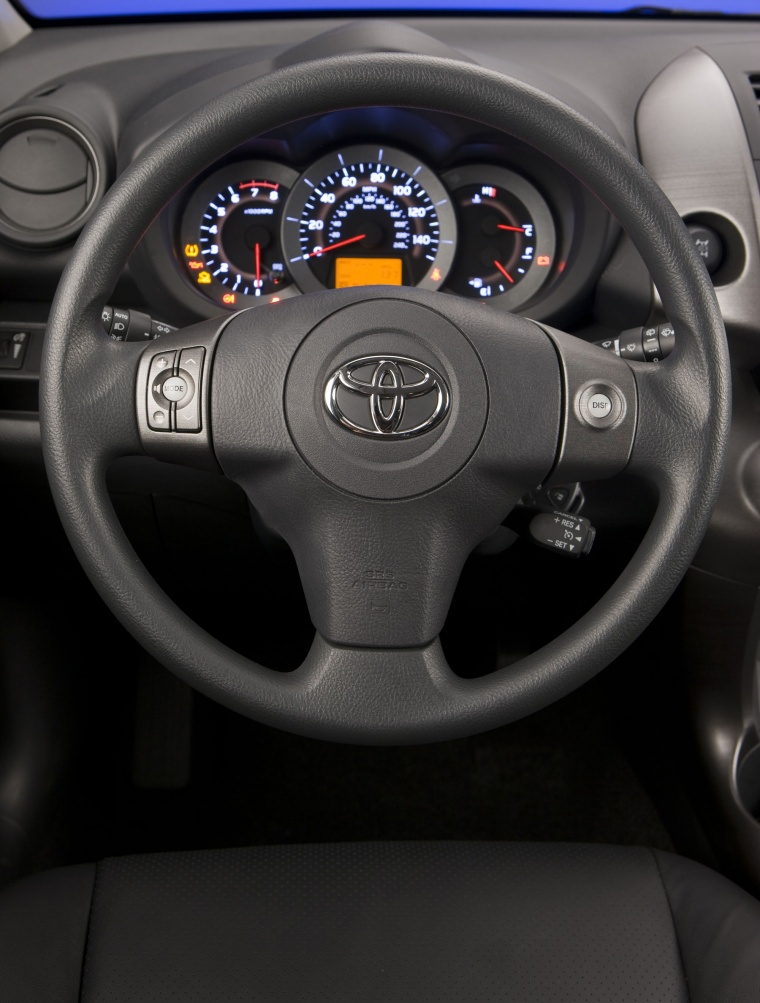 2012 Toyota RAV4 Sport Steering-Wheel Picture