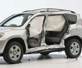 2012 Toyota RAV4 IIHS Side Impact Crash Test Picture