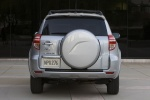 2012 Toyota RAV4 Limited in Classic Silver Metallic - Static Rear View