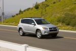 2012 Toyota RAV4 Limited in Classic Silver Metallic - Driving Front Right Three-quarter View