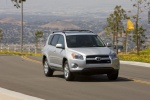 2012 Toyota RAV4 Limited in Classic Silver Metallic - Driving Front Right View