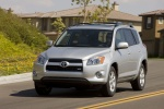 2012 Toyota RAV4 Limited in Classic Silver Metallic - Driving Front Left View