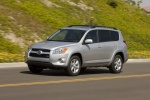 2012 Toyota RAV4 Limited in Classic Silver Metallic - Driving Front Left Three-quarter View