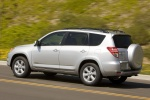 2012 Toyota RAV4 Limited in Classic Silver Metallic - Driving Rear Left Three-quarter View