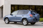 2012 Toyota RAV4 in Pacific Blue Metallic - Static Rear Left Three-quarter View
