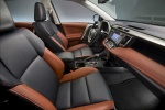Picture of 2013 Toyota RAV4 Limited Front Seats in Terracotta