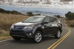 2013 Toyota RAV4 Limited in Magnetic Gray Pearl - Static Front Left Three-quarter View