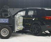 2014 Toyota RAV4 IIHS Side Impact Crash Test Picture