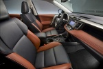 Picture of a 2014 Toyota RAV4 Limited's Front Seats in Terracotta