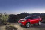 Picture of a 2014 Toyota RAV4 Limited AWD in Barcelona Red Metallic from a front left three-quarter perspective