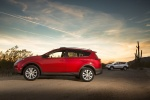 Picture of a 2014 Toyota RAV4 Limited AWD in Barcelona Red Metallic from a side perspective