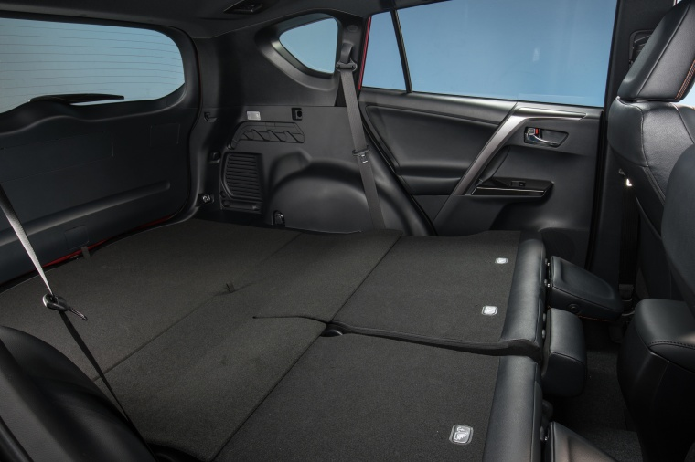 2016 Toyota RAV4 SE AWD Rear Seats Folded Picture