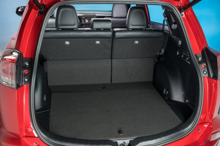 2016 Toyota RAV4 SE AWD Trunk Picture