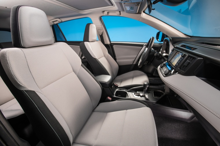 2016 Toyota RAV4 Hybrid XLE AWD Front Seats Picture