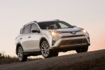 2016 Toyota RAV4 Limited AWD in Super White - Driving Front Right View