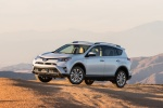 2016 Toyota RAV4 Limited AWD in Super White - Driving Front Left Three-quarter View