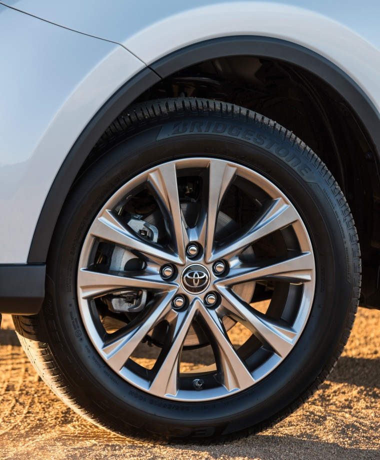 Picture of a 2017 Toyota RAV4 Limited AWD's Rim
