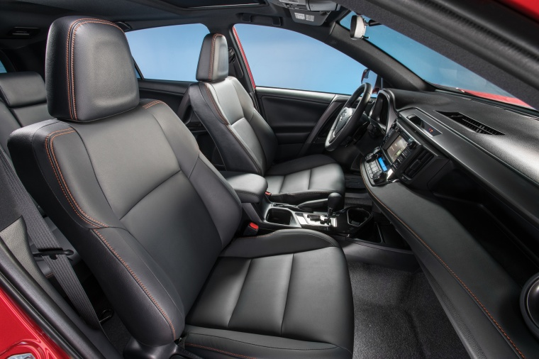 2017 Toyota RAV4 SE AWD Front Seats Picture