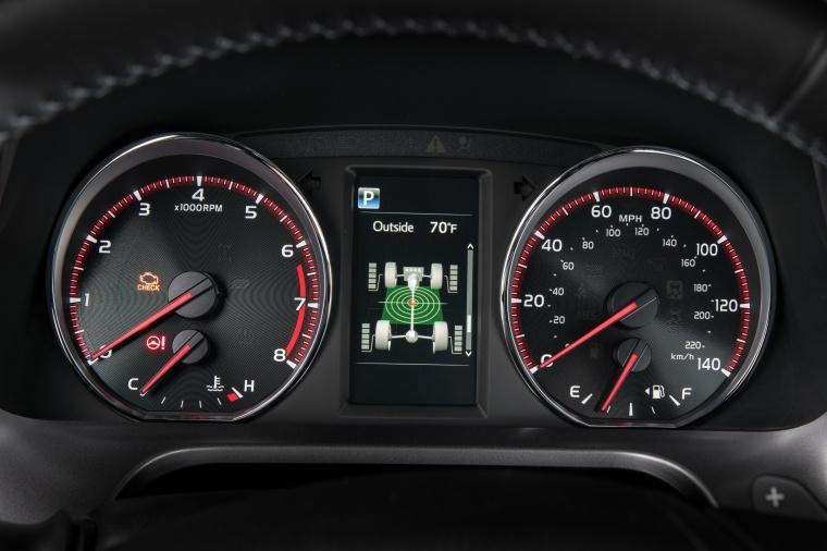 2017 Toyota RAV4 SE AWD Gauges Picture
