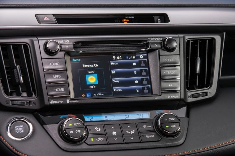 2017 Toyota RAV4 SE AWD Center Stack Picture