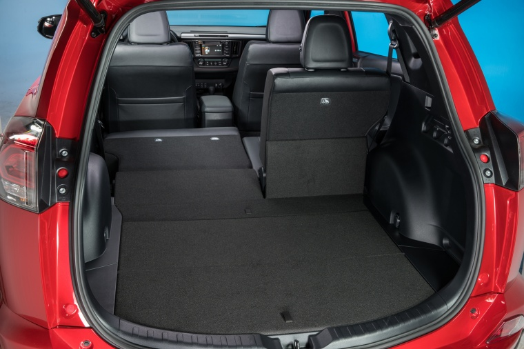 2017 Toyota RAV4 SE AWD Trunk Picture