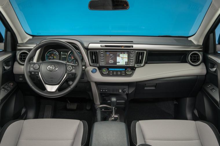 2017 Toyota RAV4 Hybrid XLE AWD Cockpit Picture