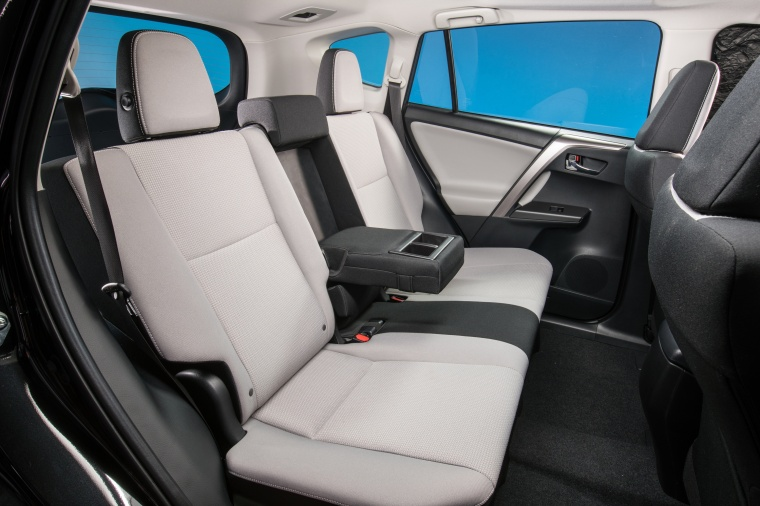 2017 Toyota RAV4 Hybrid XLE AWD Rear Seats Picture