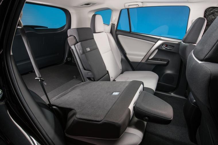 2017 Toyota RAV4 Hybrid XLE AWD Rear Seat Folded Picture