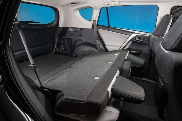 2017 Toyota RAV4 Hybrid XLE AWD Rear Seats Folded Picture