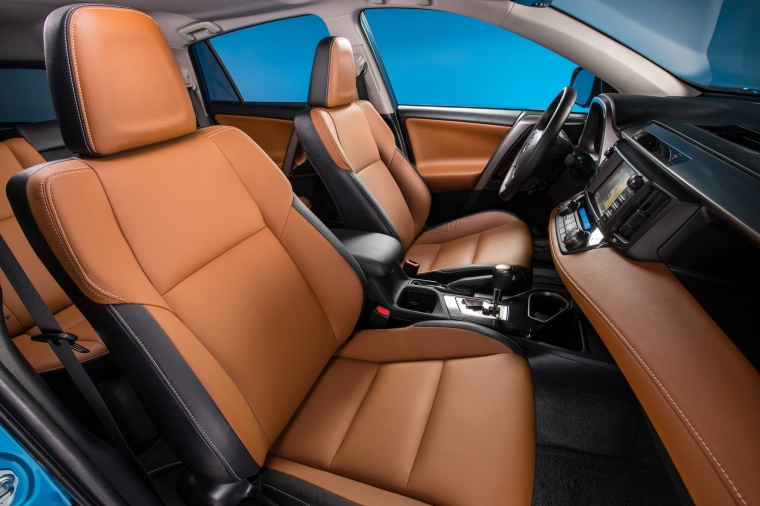 2017 Toyota RAV4 Hybrid Limited AWD Front Seats Picture