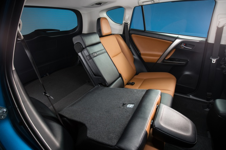 2017 Toyota RAV4 Hybrid Limited AWD Rear Seat Folded Picture