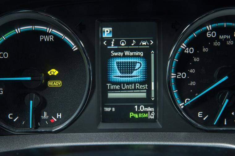 2017 Toyota RAV4 Hybrid Limited AWD Gauges Picture