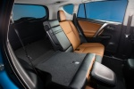 Picture of a 2017 Toyota RAV4 Hybrid Limited AWD's Rear Seat Folded
