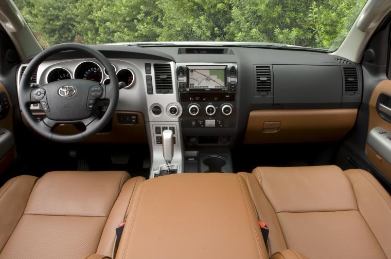 2010 Toyota Sequoia Cockpit Picture Image