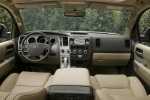 Picture of 2010 Toyota Sequoia Cockpit in Sand Beige