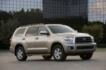 2012 Toyota Sequoia in Sandy Beach Metallic - Static Front Right Three-quarter View