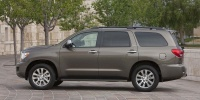 2013 Toyota Sequoia SR5, Limited, Platinum V8 4WD Review